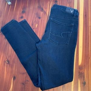 American Eagle high rise jeggings size 6r